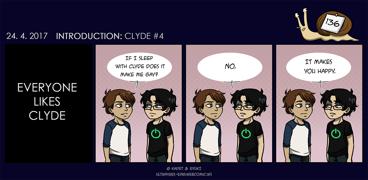 Comic 136: Introduction: Clyde #4
